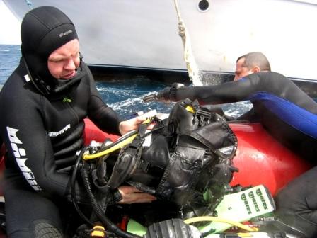 SDI Equipment Diver Specialty