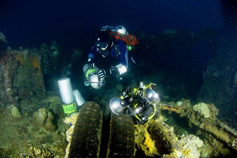TDI Decompression Procedure Diver